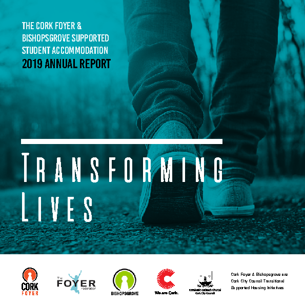 Cork-Foyer-Annual-Report-2019 front page preview