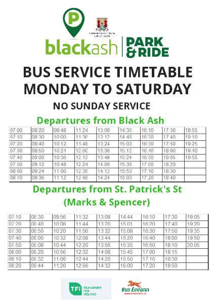 Black-Ash-Timetable-May-19 front page preview