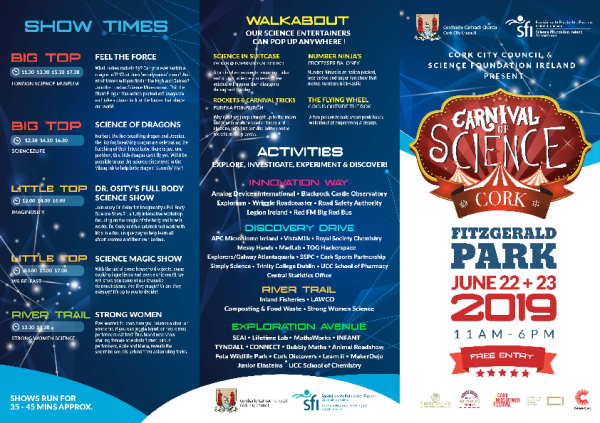 Cork_Carnival_Of-Science_program_and_map front page preview