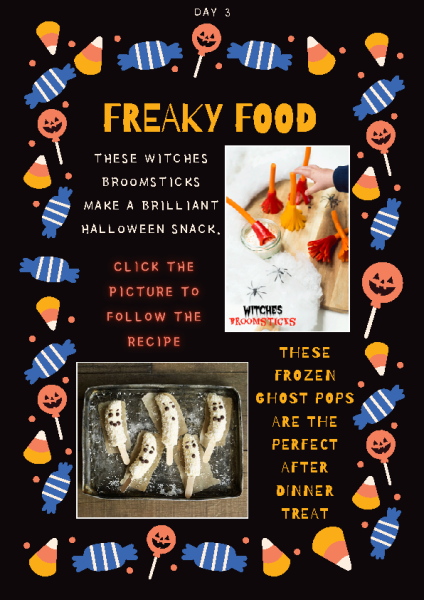 Freaky Foods Day 3 front page preview
