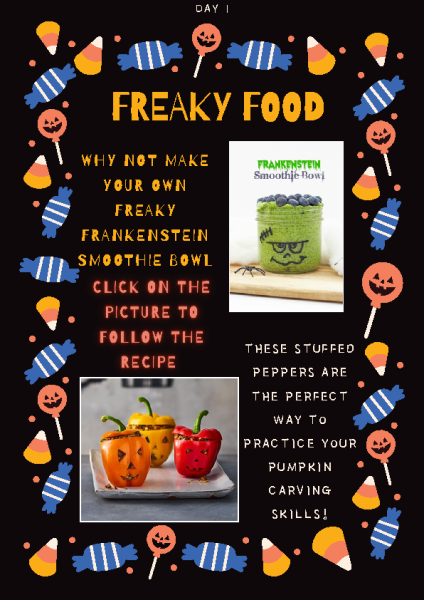 Freaky food Day 1 front page preview
