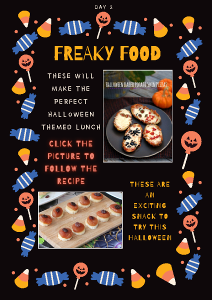 Freaky Foods Day 2 front page preview