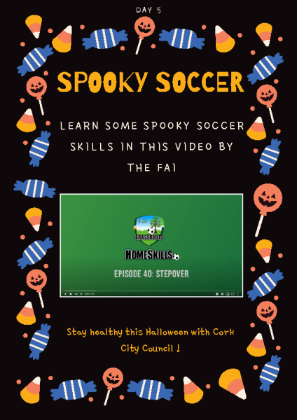 Spooky soccer Day 5 front page preview