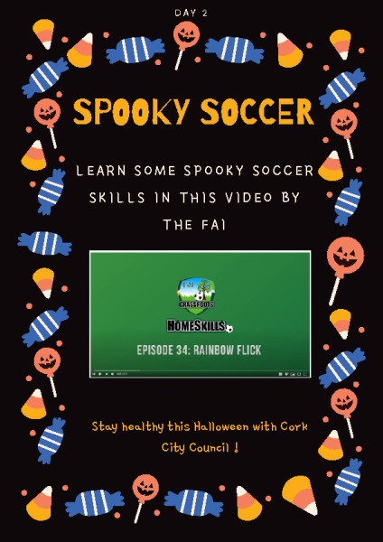Spooky soccer Day 2 front page preview