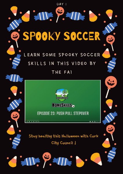 Spooky soccer Day 1 front page preview