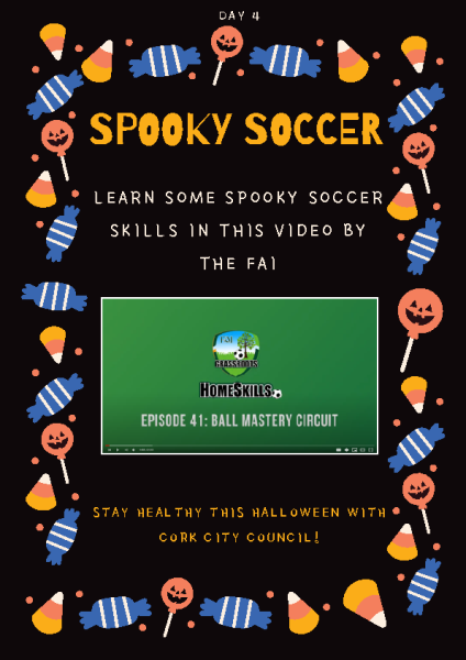 Spooky soccer Day 4 front page preview