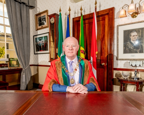 Lord Mayor Cllr. John Sheehan