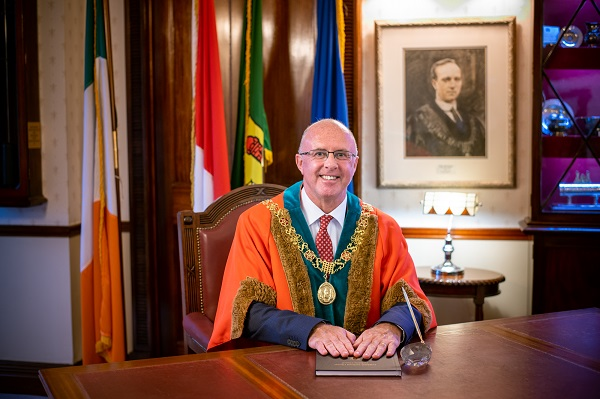 Lord Mayor Joe Kavanagh
