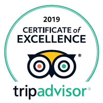 Trip Advisor Badge 2019