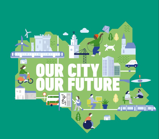 Your City Your Future graphic