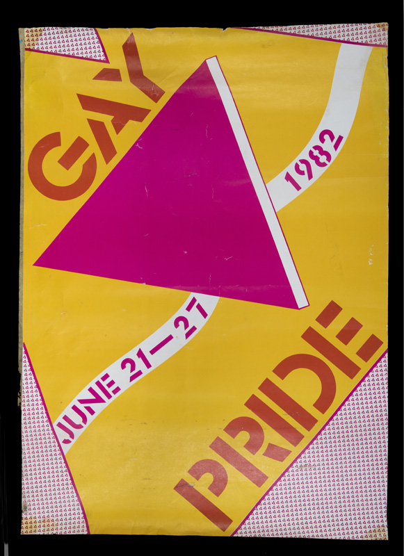 Gay pride Poster from 1982