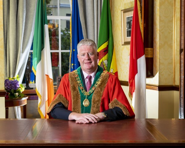 Lord Mayor Cllr Mick Finn